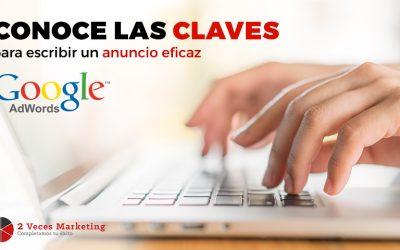 Aprende a escribir anuncios eficaces en Adwords