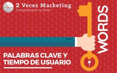 Las palabras clave y la competencia por el tiempo del usuario claves de la rentabilidad del marketing digital