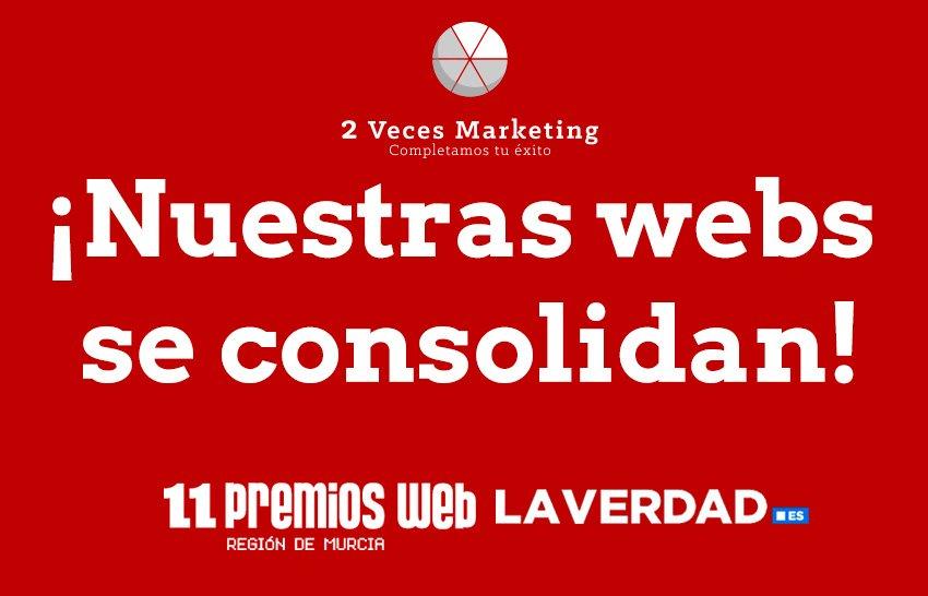 ¡Nuestras webs se consolidan!