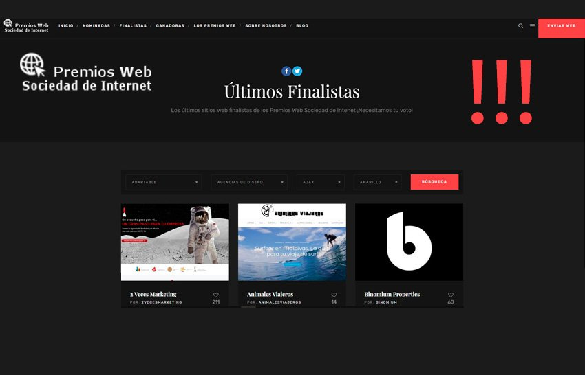 Premian las mejores webs de los 21 países de habla hispana