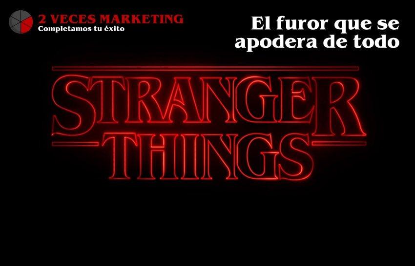 El furor por Stranger Things se apodera de las grandes marcas