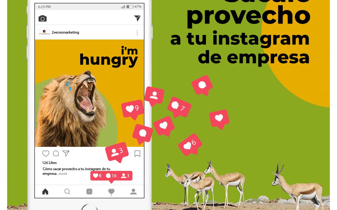 Tres sencillos trucos para sacar provecho a tu Instagram de empresa