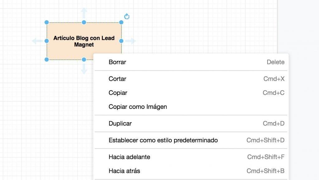 Cómo diseñar Funnels, duplicando elementos